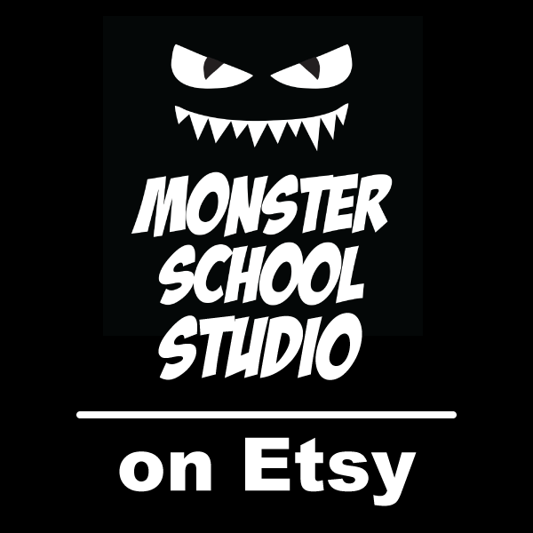 Monster School on Etsy