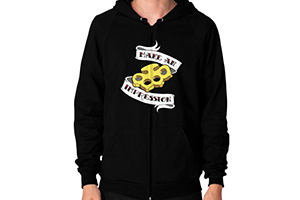 Lucky Devil Impression Zip Hoodie