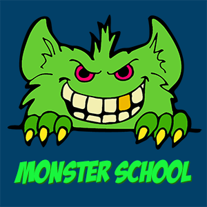 Monster School smiley